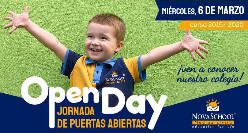 Jornada de puertas abiertas en nuestro colegio bilingüe de 3 a 18 años en Granada